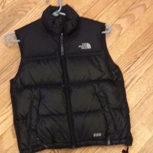 Boys small North Face vest